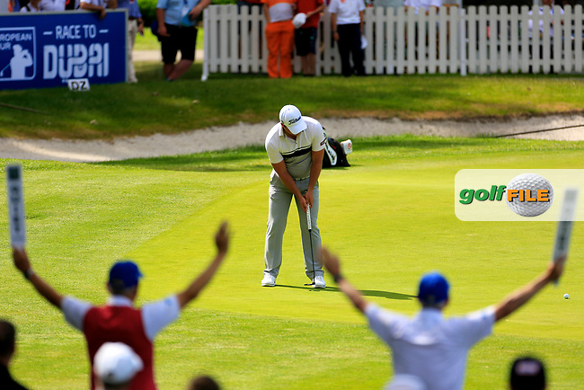Zander Lombard (RSA) during the third round of the Lyoness Open powered by Organic+ played at Diamond Country Club, Atzenbrugg, Austria. 8-11 June 2017.<br /> 10/06/2017.<br /> Picture: Golffile | Phil Inglis<br /> <br /> <br /> All photo usage must carry mandatory copyright credit (&copy; Golffile | Phil Inglis)