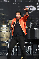 LONDON, ENGLAND - JULY 6: Lionel Richie performing at British Summertime, Hyde Park on July 6, 2019 in London, England.<br /> CAP/MAR<br /> ©MAR/Capital Pictures