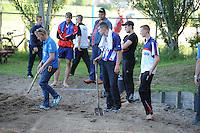 FIERLJEPPEN: JOURE: 27-06-2015, Oane Galama en TC, ©foto Martin de Jong