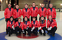 The mens and womens Team GB Winter Olympic Curling Teams 2014.   Rear left to right : David Murdoch (skip), Greg Drummond, Scott Andrews, Michael Goodfellow, Tom Brewster, Soren Gran ( Head Mens Coach). Front left to right : Eve Muirhead (skip), Anna Sloan, Vicki Adams, Claire Hamilton, Lauren Gray, Dave Hay (Womans Personal Coach).