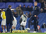 Assistant Head Coach John Terry watches on during the warm up ahead of the Premier League match at Stamford Bridge, London. Picture date: 4th December 2019. Picture credit should read: Paul Terry/Sportimage