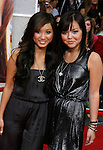 "HOLLYWOOD, CA. - April 02: Brenda Song and Maya Kibble arrive at the premiere of Walt Disney Picture's ""Hannah Montana: The Movie"" held at the El Captian Theatre on April 2, 2009 in Hollywood, California."