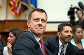 "FBI Deputy Assistant Director Peter Strzok, left, and his attorney Aitan Goelman, right, prior to Strzok giving testimony during a joint hearing of the United States House Committee on the Judiciary and the US House Committee on Oversight and Government Reform on ""Oversight of FBI and DOJ Actions Surrounding the 2016 Election"" on Capitol Hill in Washington, DC on Thursday, July 12, 2018. <br /> Credit: Ron Sachs / CNP<br /> (RESTRICTION: NO New York or New Jersey Newspapers or newspapers within a 75 mile radius of New York City)"