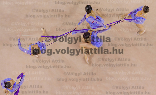 2nd Garantiqa Rythmic Gymnastics World Cup held in Debrecen, Hungary. Sunday, 07. March 2010. ATTILA VOLGYI