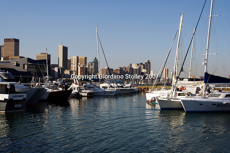 DURBAN - 11 May 2007 - A view of the Durban skylinefrom the popular Wilson's Wharf.  .Picture: Giordano Stolley/Allied Picture Press