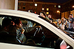 Drivers are held up in traffic as protestors blocked roads in Ybor City during the 2012 Republican National Convention in Tampa, Fla. on Aug. 27, 2012. Photo by Greg Kahn