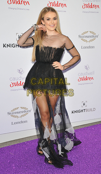 Tallia Storm at the Caudwell Children Butterfly Ball, Grosvenor House Hotel, Park Lane, London, England, UK, on Wednesday 22 June 2016.<br /> CAP/CAN<br /> &copy;CAN/Capital Pictures