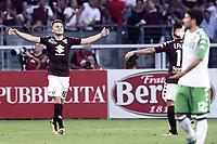 esultanza gol Adem Ljajic goal celebration<br /> Torino 27-08-2017 Stadio Olimpico Grande Torino Calcio Serie A 2017/2018, Torino-Sassuolo <br /> Torino Sassuolo Foto Imagesport/Insidefoto