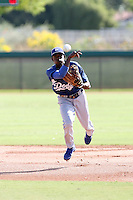 Dee Gordon - Los Angeles Dodgers - 2010 Instructional League.Photo by:  Bill Mitchell/Four Seam Images..