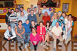 Birthday: Celebrating a great 21st birthday in John Mitchels GAA Club, Tralee, on Saturday evening was Daniel Brosnan of Ashleigh Downs (seated 3rd from left), along with family and friends..