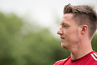 Wayne Hennessey during a Wales media day ahead of the final pre Euro 2016 friendly match against Sweden, Vale Resort, Hensol, Wales on 1 June 2016. Photo by Mark  Hawkins / PRiME Media Images / PRiME Media Images.