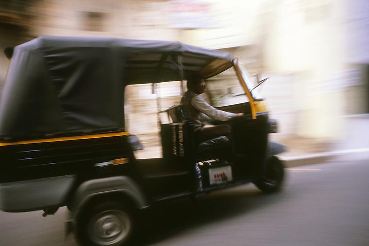 Rickshaw in Udaipur, Rajasthan, India, 2011
