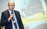 "BRUSSELS - BELGIUM - 23 November 2016 -- European Training Foundation (ETF) Conference on ""GETTING ORGANISED FOR BETTER QUALIFICATIONS"". -- Deputy Chief Executive Klinkum Grant, NZQA - New Zealand Qualifications Authority. -- PHOTO: Juha ROININEN / EUP-IMAGES"