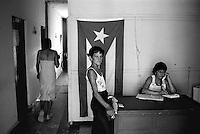 Cuba, Vinales.<br /> Ufficio del lavoro.<br /> Cuba, Vinales.<br /> Work's office.