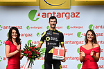 Fabien Grellier (FRA) Direct Energie wins the days combativity award at the end of Stage 8 of the 2018 Tour de France running 181km from Dreux to Amiens Metropole, France. 14th July 2018. <br /> Picture: ASO/Alex Broadway | Cyclefile<br /> All photos usage must carry mandatory copyright credit (&copy; Cyclefile | ASO/Alex Broadway)