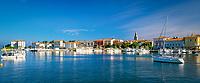 Kroatien, Istrien, Porec: Hafen und bekannter Ferienort | Croatia, Istria, Porec: Harbour and holiday resort