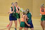 NELSON, NEW ZEALAND - JULY 1: Netball, Jacks Pro v Marist Green, Saxton Stadium, July 1, 2017, Nelson, New Zealand. (Photo by: Barry Whitnall Shuttersport Limited)