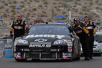 Apr 20, 2007; Avondale, AZ, USA; Nascar Nextel Cup Series driver Mark Martin (01) during practice for the Subway Fresh Fit 500 at Phoenix International Raceway. Mandatory Credit: Mark J. Rebilas