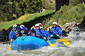 Nova Guides crashing Interstate, Dead Cow & Rodeo Rapids while running the Lower Eagle River from Wolcott to Eagle on the afternoon of June 20, 2014.