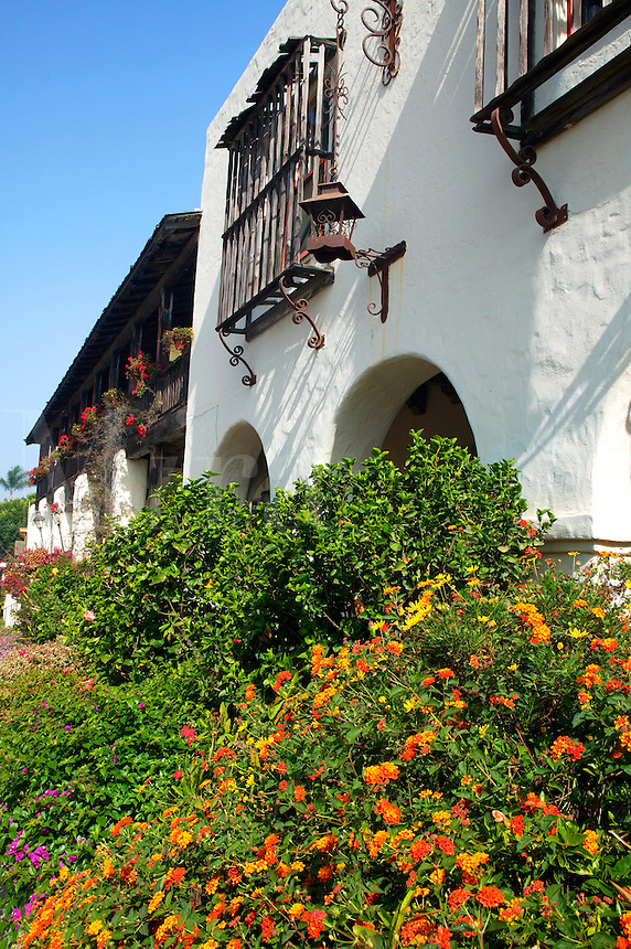 Casa de Bandini Resturant and Cosmopolitan Hotel, Old Town, San Diego, California