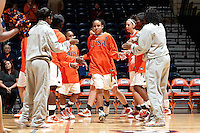 SAN ANTONIO, TX - JANUARY 12, 2011: The Texas A&M University Corpus Christi Islanders vs. The University of Texas at San Antonio Roadrunners Women's Basketball at the UTSA Convocation Center. (Photo by Jeff Huehn)