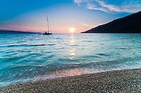 Brac, Zlatni Rat Beach and Bol, Croatia