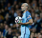 Pablo Zabaleta of Manchester City during the English Premier League match at the Etihad Stadium, Manchester. Picture date: May 16th 2017. Pic credit should read: Simon Bellis/Sportimage
