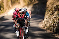 Julien Bernard (FRA/Trek-Segafredo) up the final climb: the Col de Turini<br /> <br /> Stage 7: Nice to Col de Turini (181km)<br /> 77th Paris - Nice 2019 (2.UWT)<br /> <br /> ©kramon