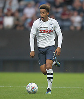 Preston North End's Callum Robinson<br /> <br /> Photographer Mick Walker/CameraSport<br /> <br /> Football Pre-Season Friendly - Preston North End  v Burnley FC  - Monday 23st July 2018 - Deepdale  - Preston<br /> <br /> World Copyright &copy; 2018 CameraSport. All rights reserved. 43 Linden Ave. Countesthorpe. Leicester. England. LE8 5PG - Tel: +44 (0) 116 277 4147 - admin@camerasport.com - www.camerasport.com