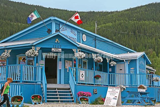 Dawson City 2010,  Gold Rush Campground, THE YUKON TERRITORY, CANADA