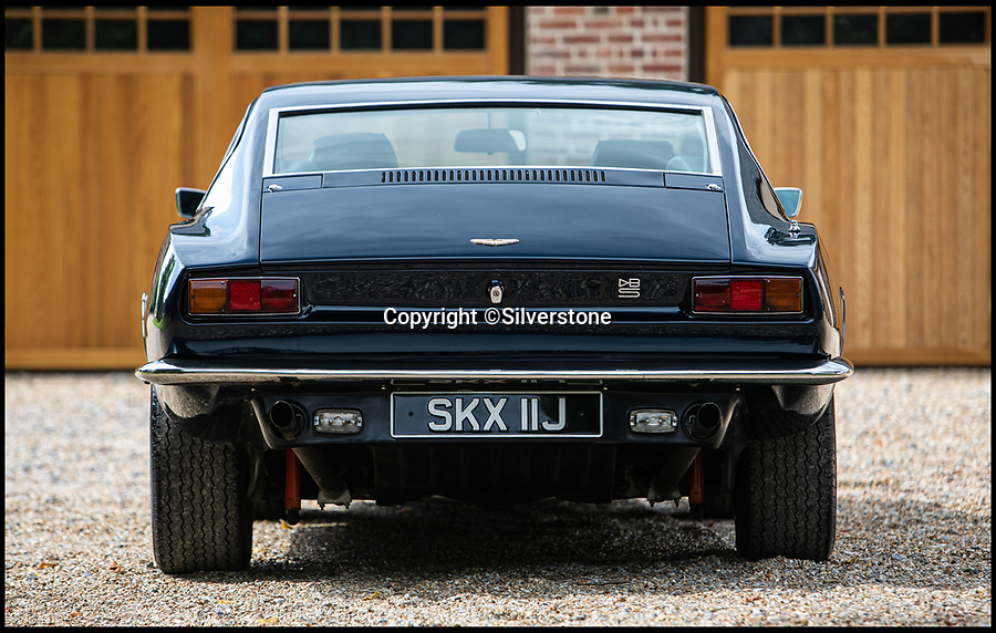 BNPS.co.uk (01202 558833)<br /> Pic: Silverstone/BNPS<br /> <br /> The DBS V8 was the fastest 4 seater in the world in 1970.<br /> <br /> Ah-ha - £165,000 buys you the comedian's beloved Aston Martin DBS supercar.<br /> <br /> The Alan Partridge creator, who is an avid car collector, has owned the four-seater dark blue 1970 Aston Martin DBS V8 since 2011.<br /> <br /> This particular example was the original factory press car used to launch the new V8 model. In 1971, it was taken onto the unfinished M4 and tested over a mile, clocking at an impressive average speed of 160mph.<br /> <br /> Coogan's Partridge character used to drive a beige Rover 800 which was famously grafittied with 'C*ck P*ss Partridge', and he also bought a Lexus IS300 he fondly referred to as 'the Japanese Mercedes' before driving straight into a bollard.