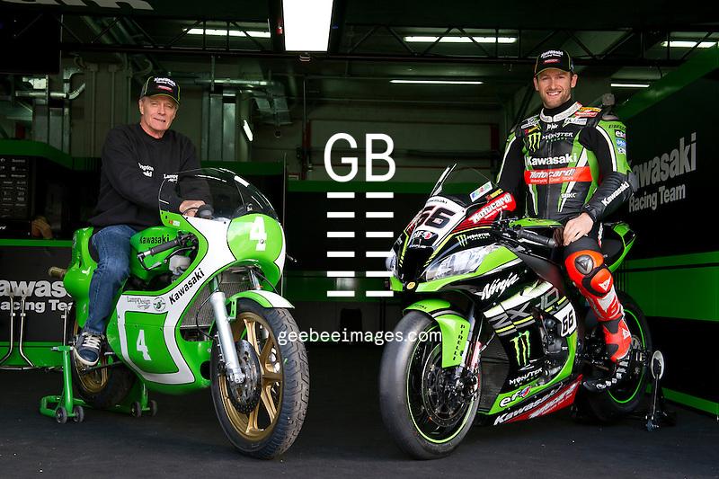 2016 FIM Superbike World Championship, Round 05, Imola, Italy, 29 April - 1 May 2016, Tom Sykes, Kork Ballington, Kawasaki Ninja ZX-10R,  Kawasaki KR250