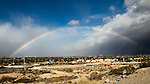 Rainbow over Las Vegas 12/16/16