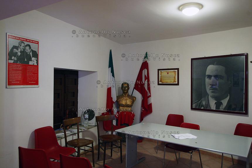 La sede della Camera del Lavoro di Corleone dedicata a Placido Rizzotto