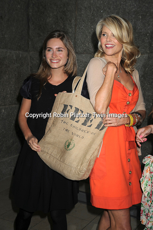 Lauren Bush and Christie Brinkley