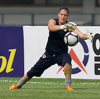 Nicole Barnhart. The USWNT defeated, 2-0, at the Suwon Sports Center in Suwon, South Korea.