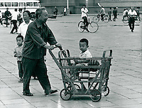 Kinderwagen in China 1980