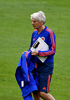 BOGOTÁ - COLOMBIA, 24–05-2018: José Pekerman, entrenador de la Selección Colombia, durante entrenamiento en el Estadio Nemesio Camacho El Campín, en Bogotá. Colombia se prepara para la próxima la Copa Mundo FIFA 2018 Rusia. /Jose Pekerman, coach of the Colombian national Team, during training at the Nemesio Camacho El Campin stadium, in Bogota city. Colombia prepares for the next 2018 FIFA World Cup Russia. Photo: VizzorImage / Luis Ramirez /Staff.
