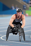 RIO DE JANEIRO - 12/9/2016:  Tristan Smyth competes in the Men's 1500m - T54 Heat at the Olympic Stadium during the Rio 2016 Paralympic Games in Rio de Janeiro, Brazil. (Photo by Matthew Murnaghan/Canadian Paralympic Committee)