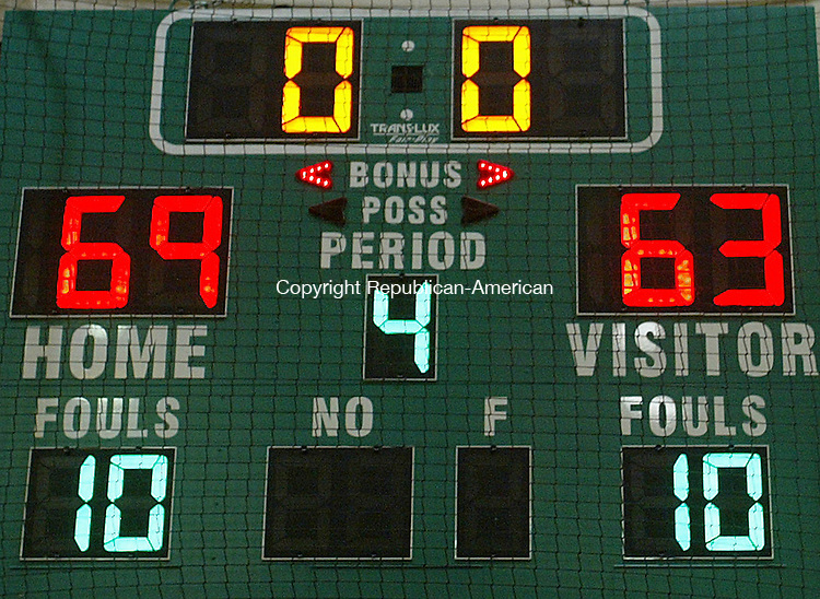The Raiders defeated the Hatters 69 -63Michael Kabelka Republican / American.