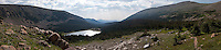 Panorama of Lost Lake - Rocky Mountain National Park