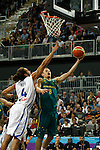 17/08/2011 - Australia Vs France- London Prepares Basketball Invitational - Olympic Park - Stratford