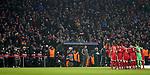 20.02.2018, Allianz Arena, München, GER, UEFA CL, FC Bayern München (GER) vs Besiktas Istanbul (TR) , im Bild<br />Aufstellung der Mannschaft von Bayern München vor den Fotografen<br /><br /><br /> Foto © nordphoto / Bratic
