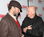 F. Murray Abraham & Terrence McNally attending the Opening Night Party for the Manhattan Theatre Club's 'Golden Age' at Beacon Restaurant in New York City on December 4, 2012.