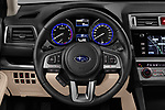 Car pictures of steering wheel view of a 2017 Subaru Outback Premium 5 Door Wagon