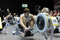 Birmingham, Great Britain,  Women's 40-44 HWT,  Marika KIVISTO, Finnrowing, competing at the 2008 British Indoor Rowing Championships, National Indoor Arena. on  Sunday 26.10.2008 . [Photo, Peter Spurrier/Intersport-images] .