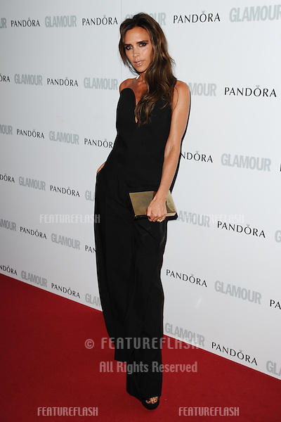 Victoria Beckham arriving for the 013 Glamour Women of The Year Awards, Berkeley Square, London. 04/06/2013 Picture by: Steve Vas / Featureflash