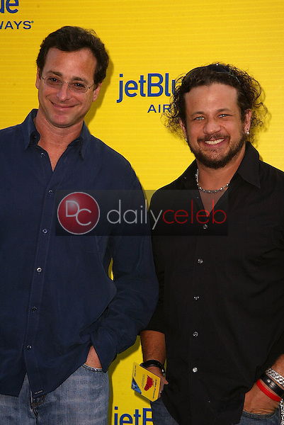 Bob Saget and Joe Reitman<br /> at the launch of Jet Blue out of Burbank and 25th anniversary screening of &quot;Airplane&quot; at Warner Bros. Studios, Burbank, CA 06-13-05<br /> David Edwards/DailyCeleb.Com 818-249-4998