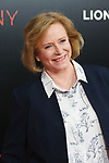 """Actress Eve Plumb arrives on the red-carpet for the Tyler Perry""""s ACRIMONY movie premiere at the School of Visual Arts Theatre in New York City, on March 27, 2018."""