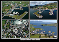 Aerial views of Dingle Harbour.<br /> Picture: Don MacMonagle - macmonagle archive<br /> e: info@macmonagle.com